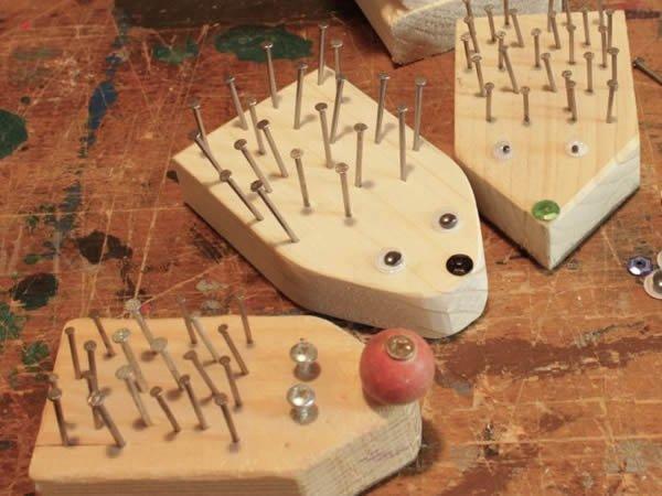 Kleine Igel ein tolles Projekt für kleine Kinder und Kindergruppen